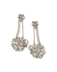 Club Monaco | Metallic Erickson Beamon Drop Earring | Lyst