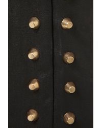 Topshop | Black Stud Ankle Trouser By Rare | Lyst