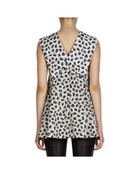 Balenciaga | Animal Bell Berlingot-Print Top | Lyst