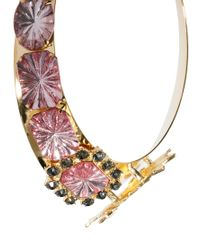 ASOS Metallic Dinosaur Collar Necklace