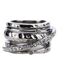 Dyrberg/Kern | Metallic Wendolyn Ring | Lyst