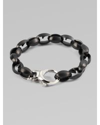 Stephen Webster | Black Thorn Link Bracelet for Men | Lyst