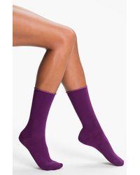 Hue | Purple Jeans Socks | Lyst
