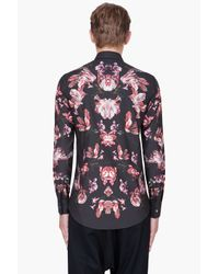 Alexander McQueen   Graphic Floral Shirt for Men   Lyst