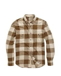 French Connection | Brown Bushcraft Twill Shirt for Men | Lyst