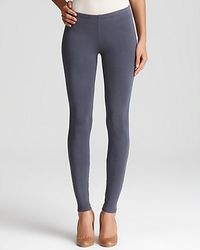 Splendid | Gray Charcoal French Terry Legging | Lyst