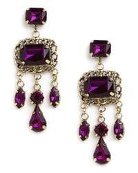 BaubleBar | Purple Violet Chain Cascade | Lyst