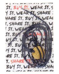 TOPSHOP - Blue Shelterbox Charity Bracelet - Lyst