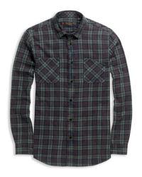 Ben Sherman Green Shoreditch Collar Shirt for men