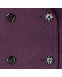L.K.Bennett Purple Clare Coat