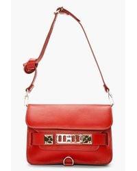 Proenza Schouler   Red Paprika Leather Ps11 Mini Classic   Lyst