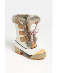 Hunter | White Cathie Boot | Lyst