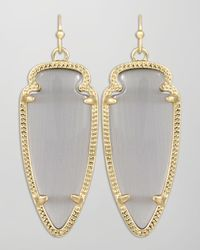 Kendra Scott - Metallic Small Sky Arrow Earrings   - Lyst