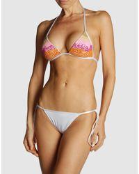 La Perla - White Bikini - Lyst