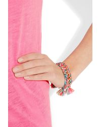 Aurelie Bidermann | Metallic Do Brasil Bracelet | Lyst