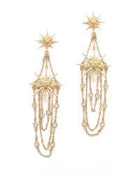 Belle Noel - Metallic Vintage Glamour Earrings - Lyst