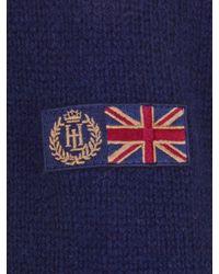 Henri Lloyd Blue Henri Lloyd Sinnet Button Knit Jumper Navy for men