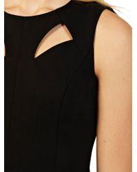 Oasis Oasis Diamonte Zip Back Dress Black