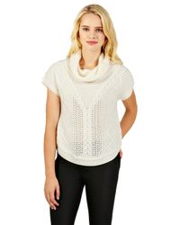 Oasis Oasis Trapeze Cable Jumper Off White