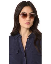 Oliver Peoples | Pink Kiley Sunglasses | Lyst