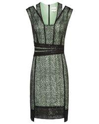 Reiss Green Tali Sparkle Bodycon Dress