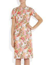 Stella McCartney Multicolor Floral Jacquard Dress