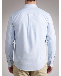 Timberland Timberland Clairmont Oxford Plain Shirt Light Blue for men