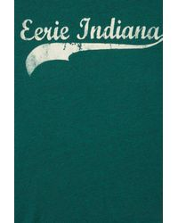 TOPSHOP Green Eerie Indiana Tee By Project Social T
