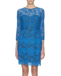 Whistles Whistles Victoria Lace Dress Blue