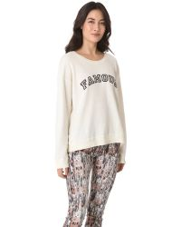 Wildfox Pink Famous Sweatshirt