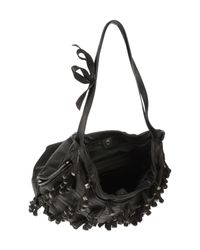 Valentino | Black Large Leather Bag | Lyst