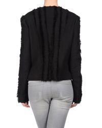 Versace Black Shrug