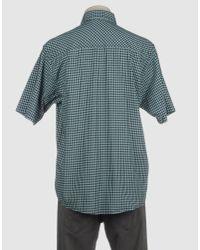 Carhartt Blue Short Sleeve Shirt for men