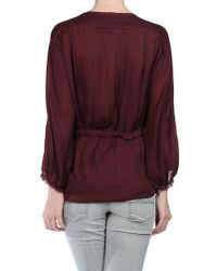 Isabel Marant | Red Blouse | Lyst
