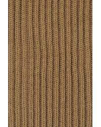 Acne Studios Natural Courtney Convertible Wool Gloves