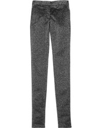 Alexander Wang Metallic Twill Pants