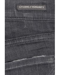 Citizens of Humanity - Blue Avedon Low-rise Skinny Jeans - Lyst