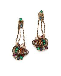Club Monaco - Multicolor Cluster Earrings  - Lyst