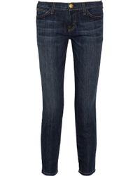 Current/Elliott Blue Skinny Jeans