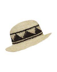Denim & Supply Ralph Lauren Natural Straw Hat for men