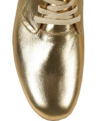 Esquivel Derby Metallic Leather Brogues