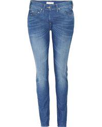 Étoile Isabel Marant Blue Mid-rise Skinny Jeans