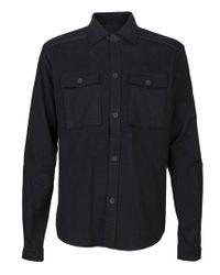 Field Scout Black Flannel Shirt for men