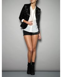 Glamorous Black All Over Sequin Jacket