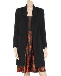 Helene Berman Black Felt Coat