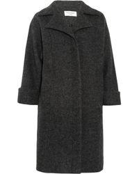 Helene Berman Gray Wool Coat