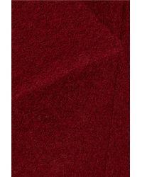 Helene Berman Purple Wool Coat