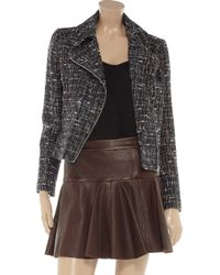 Helene Berman Gray Bouclé Jacket