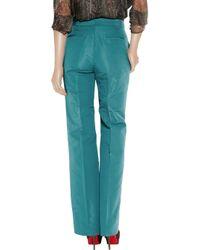 J.Crew - Blue Hutton Silk-faille Wide-leg Pants - Lyst