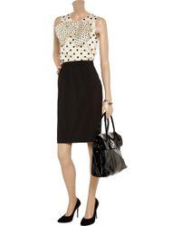 Jil Sander | Blue Wool-blend A-line Skirt | Lyst